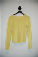 Canary Yellow Costume National Sweater, size S