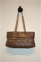 Chocolate Christian Louboutin Shoulder Bag, size S
