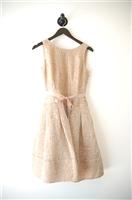 Beige Shimmer BCBG Maxazria Party Dress, size 4