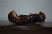Dark Leather Tod's Ballet Flats, size 7.5