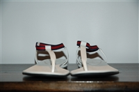Summer White Gucci Sandal, size 7