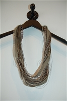 Mixed Neutrals No Label Necklace, size O/S
