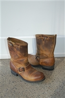 Burnished Brown Frye Boots, size 9