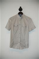 Silver Belstaff Short-Sleeved Top, size 6