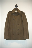 Military Green DSquared2 Peacoat, size M