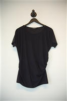 Basic Black Joeffer Caoc Short-Sleeved Top, size XL