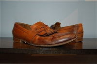 Burnished Brown Gucci Loafer, size 11
