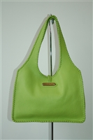 Lime No Label Hobo, size L