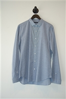 Check Theory Button Shirt, size XL