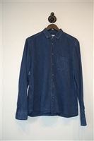 Navy You Must Create Button Shirt, size M