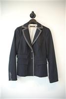 Navy Stripe Tara Jarmon Suit Jacket, size 4