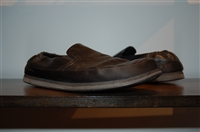 Black Leather Prada Slip-On Shoe, size 11.5