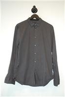 Carbon John Varvatos Star USA Button Shirt, size M
