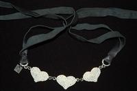 Black & White Otazu Choker, size O/S