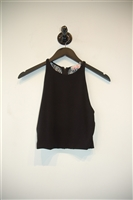 Basic Black Alice + Olivia Cropped Top, size 0