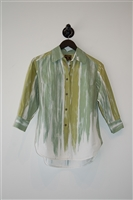 Green Tones Vivienne Westwood - Anglomania Shirt, size 6