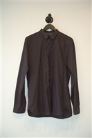 Basic Black The Kooples Button Shirt, size M