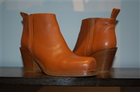 Saddle Brown Acne Studios Ankle Boots, size 7