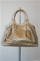 Gold Gucci Tote, size M