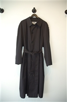 Basic Black Aquascutum Overcoat, size XL