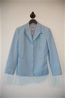 Powder Blue Versace Jeans Couture Skirt Suit, size 8