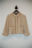 Soft Beige BCBG Maxazria Jacket, size S