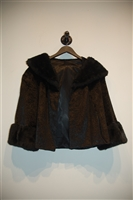 Basic Black No Label - Vintage Cropped Jacket, size M