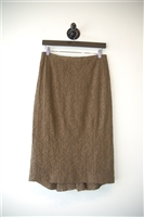Olive Marina Rinaldi Flared Skirt, size M