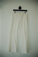 Soft White Gucci Trouser, size 6