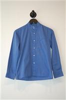 China Blue Dior Button Shirt, size XS