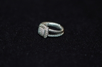 Sterling Silver David Yurman Ring, size O/S