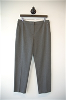 Dark Ash Max Mara Cropped Trouser, size 12