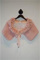 Soft Pink Sangiorgio Shawl, size O/S