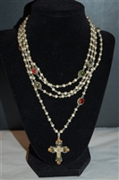 Pearl Virgins Saints & Angels Necklace, size O/S