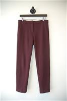 Burgundy Pinko Trouser, size 8