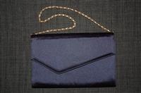 Navy Holt Renfrew - Vintage Clutch, size S