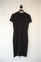 Basic Black BCBG Maxazria Shirt Dress, size M