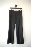 Satin Black Gucci Tuxedo Pant, size 6