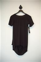 Basic Black Casa Como Short-Sleeved Top, size XS