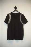 Black Alexander McQueen T-Shirt, size S
