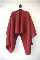Dark Ruby Issey Miyake Evening Dress, size M