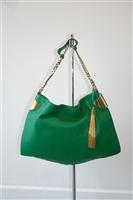 Leaf Green Gucci Hobo, size M