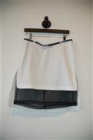 White & Black Robert Rodriguez Pencil Skirt, size 4