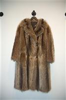 Mixed Browns No Label - Vintage Coat, size XL