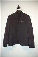 Basic Black Neil Barrett Hybrid Blazer, size 36