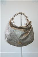 Antique Silver Jimmy Choo Hobo, size L