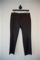 Black Satin BCBG Maxazria Trouser, size 6