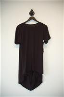 Basic Black Casa Como Short-Sleeved Top, size M