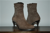 Dark Taupe Ann Demeulemeester Ankle Boots, size 6.5