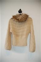 Oatmeal Roberto Cavalli Pullover, size S